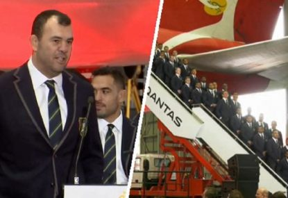Michael Cheika's classic response to question about the Wallabies form