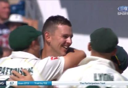 Watch every glorious wicket as Australia skittle England for 67