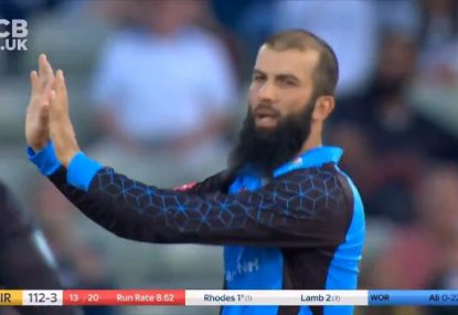 Moeen Ali produces a peach in MOTM T20 performance