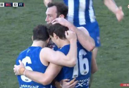 Roos pip Dees in frantic final minutes