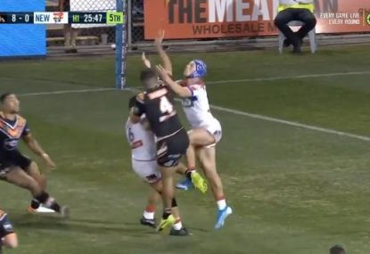 'I can't believe that': Did the bunker miss a clear Knights penalty?