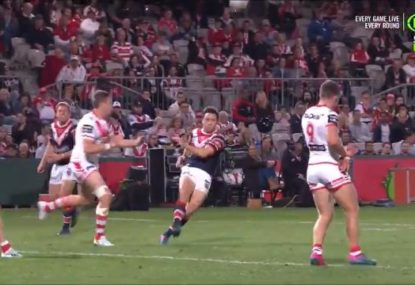 Cooper Cronk winds back the clock with an outrageous kick