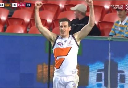 The moment Jeremy Cameron (probably) won the Coleman Medal