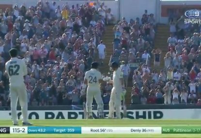 HIGHLIGHTS: Root and Denly dig in to give England hope in Third Test