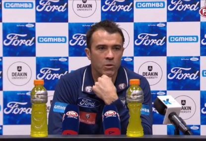 'The system's wrong': You'll never guess what Chris Scott is complaining about again