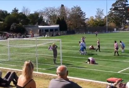 Sydney local comp goes viral for this spectacular, Grand Final-losing own goal