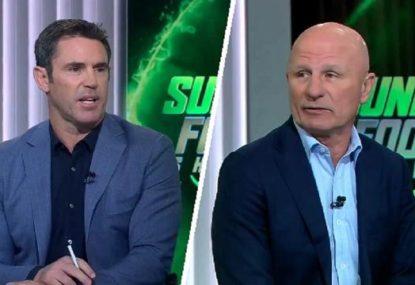 Legends slam Ponga for 'disrespectful' reaction to Brown sacking