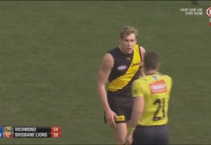 Tom Lynch fumes over contentious free kick