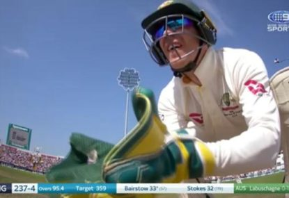 More Tim Paine stump mic banter as he takes the mickey out of Peter Siddle