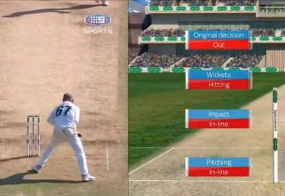 How a botched run out, another umpire howler and a burned review cost Australia the Test