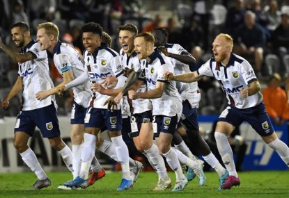Central Coast Mariners vs Adelaide United: FFA Cup semi-final live scores, blog