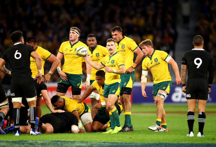 Nic White and the Australian scrum