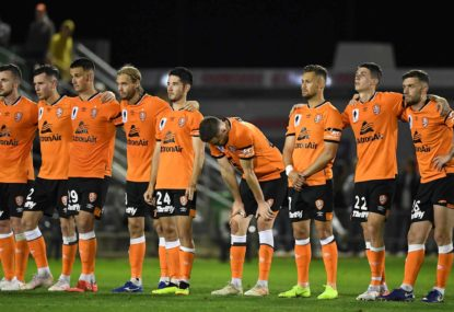 Brisbane Roar fall Fowler of the Mariners and exit the FFA Cup