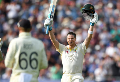 Can anything stop Steve Smith from averaging 100 in Tests this summer?