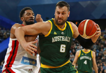 Gold the goal for new Boomers coach Brown