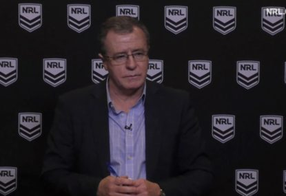 Graham Annesley opens up on Des Hasler conversations following controversial Manly loss
