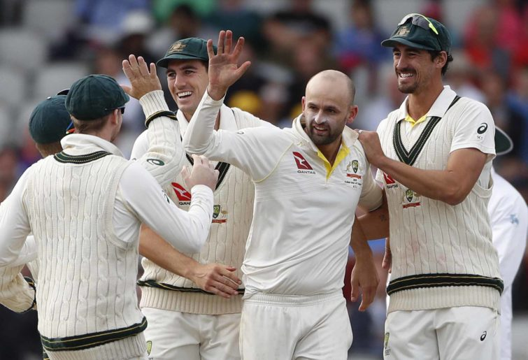 Australia celebrate an Ashes win