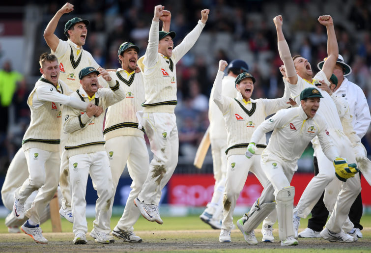 Australia Old Trafford Ashes win.