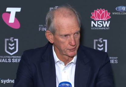 Wayne Bennett admits to selection mistake after Rabbitohs' crushing defeat
