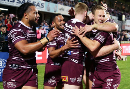 Manly into semi-finals after sinking Sharks