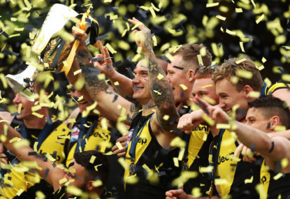 Geelong and Richmond set the standard for excellence, precisely a decade apart