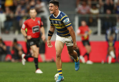Eels weigh up halves as Dylan Brown nears return