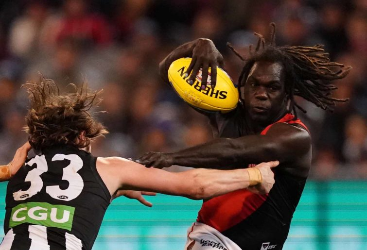 Anthony McDonald-Tipungwuti of the Bombers