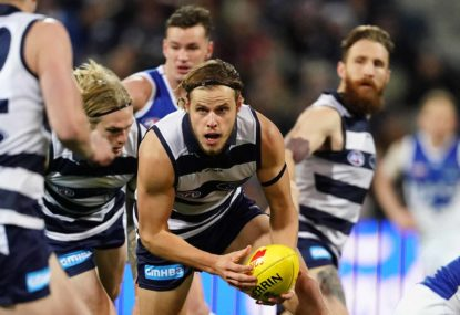 Geelong's season in review: Pain now, lots of promise ahead