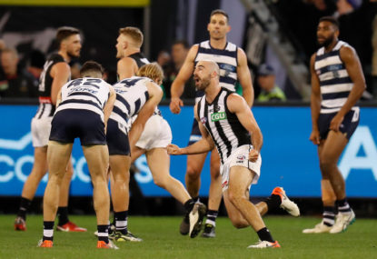 Who had the better season: Geelong or Collingwood?