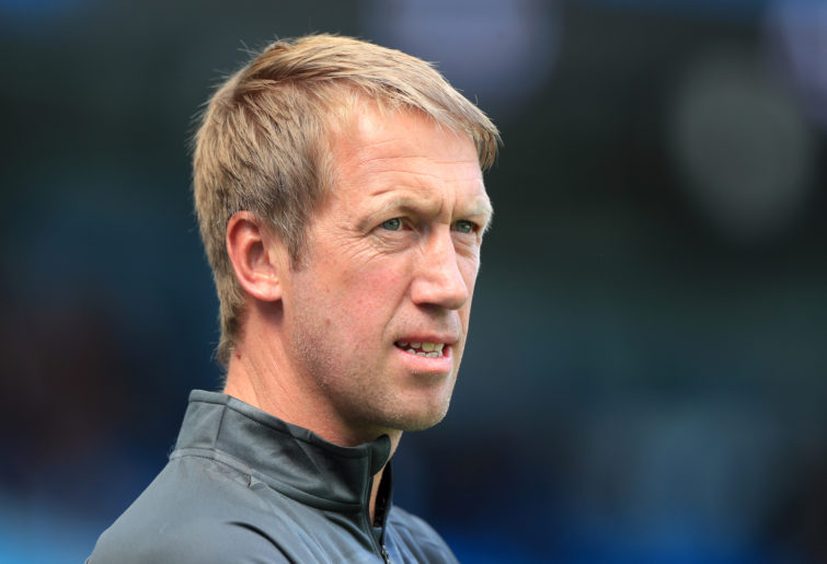New Brighton manager Graham Potter.