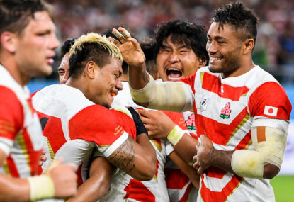 Rugby, passion and typhoons: On the ground at the World Cup