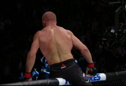 Aussie fighter has the tables turned on him in stunning defeat at UFC Vancouver