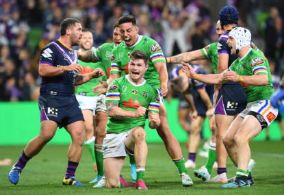 A change of plans as the NRL finals get exciting again