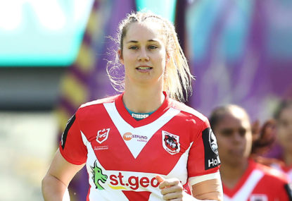 Dragons claim historic win over Warriors in first-ever standalone NRLW fixture