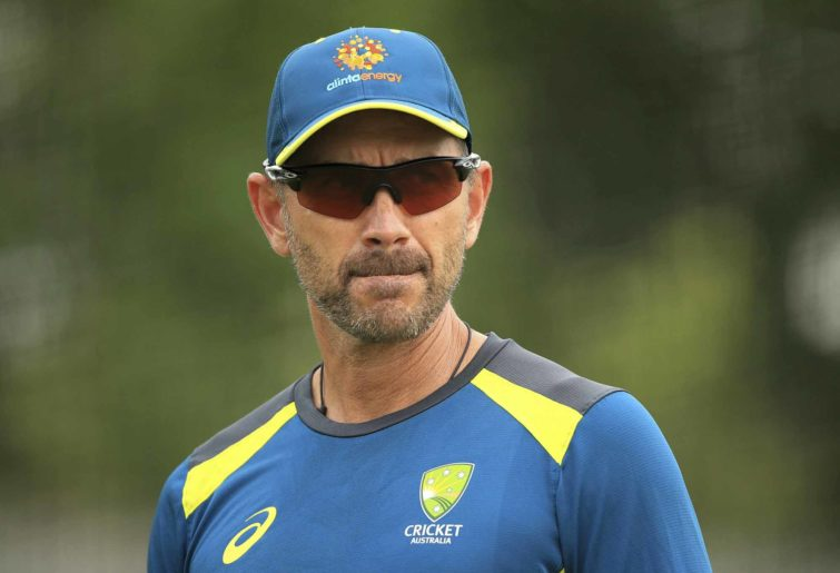 Justin Langer for the Aussies