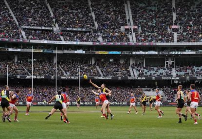 Victorian government make the call on AFL crowd sizes for Round 1