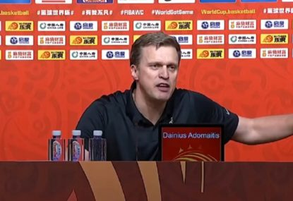 'F---ing joke!': Lithuania coach's all-time press conference blow up