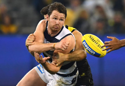 Patrick Dangerfield named captain of All Australian side
