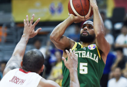 Mills stars as Boomers go 3-0 at World Cup