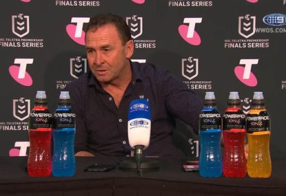 Ricky Stuart's reaction to the bizarre Joey Leilua incident