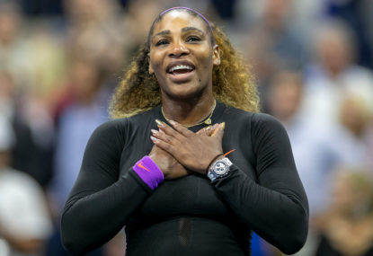 Champion mother tag suiting Serena Williams just fine