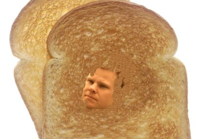 Piece of toast discovered bearing divine image of Steve Smith