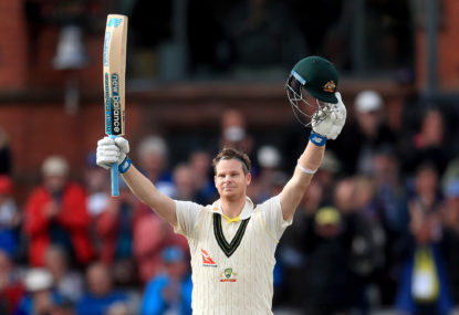 Dancing in Bradman's shadow