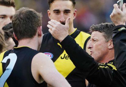 AFL top 100: Round 3, Richmond versus Hawthorn