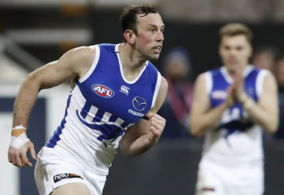 AFL top 100: North Melbourne's games and goals