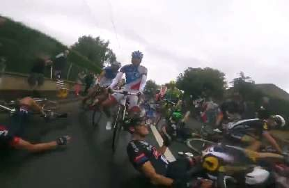 Tour de Carnage captured on GoPro