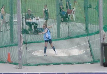 Future Olympian breaks national record