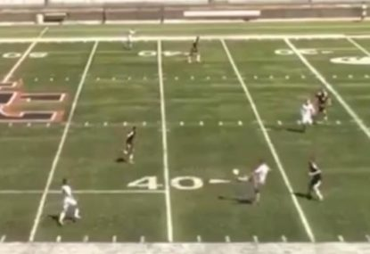 17-year-old Aussie shows up the Yanks with dazzling goal assist