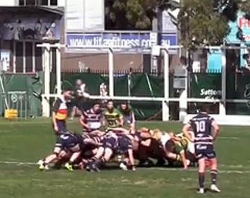Crunching Grand Final big hit leaves player reeling