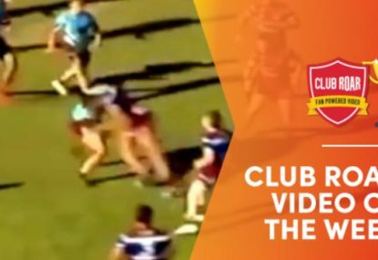 CLUB ROAR VIDEO OF WEEK: Highschool tackle is 100% the Hit of the Decade
